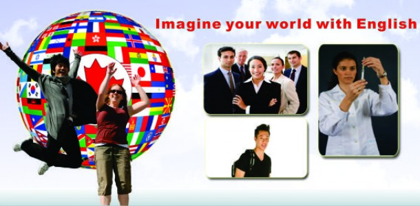 Imagine your world with English